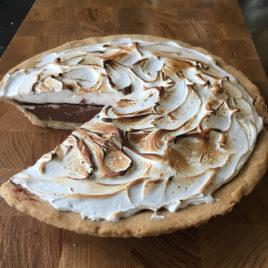 Mocha Nut Fudge Gelato Pie PREORDER (Vegan / Dairy Free)